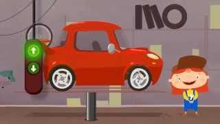 Doktor Mac Wheelie und der Sportwagen - Cartoons zum Lernen und Spaß