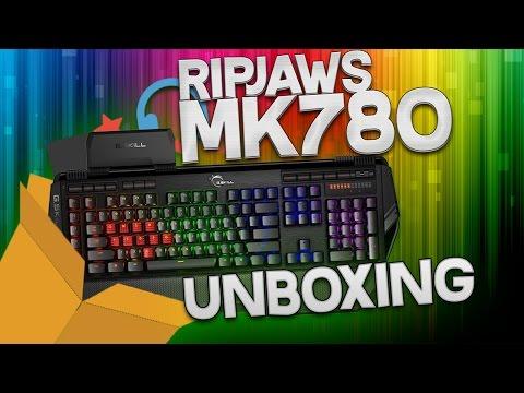 ¡UNBOXING DEL MEJOR TECLADO GAMING CALIDAD PRECIO! G.SKILL RIPJAWS KM780 RGB ESPAÑOL