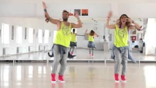 "Dance Fitness - Nevena & Goran - Tapo & Raya ""Bomba"""