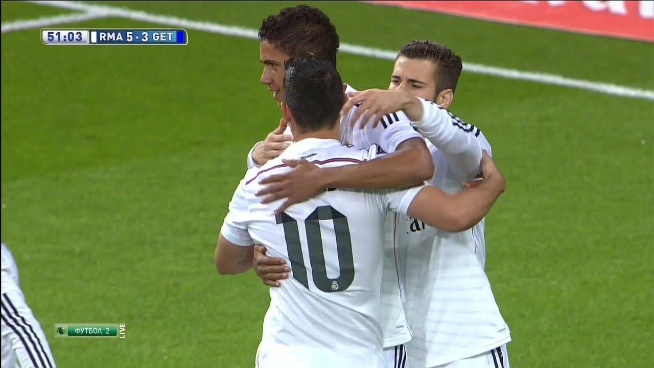 Getafe Real Madrid 0 3: James Rodríguez FREE KICK Goal Vs Getafe