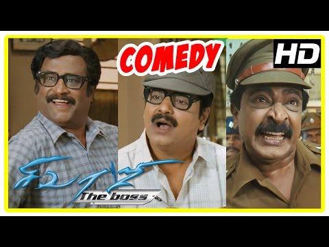 Sivaji Comedy Scenes | Sivaji The Boss...