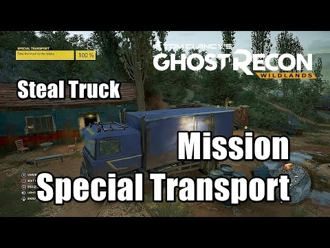 Ghost Recon Wildlands Steal the Medical Supply Truck - Special Transport Mission Ocoro Walkthrough