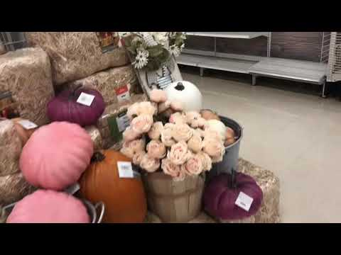 Michaels craft store fall decorations 1 2018 youtube for Michaels craft store watches