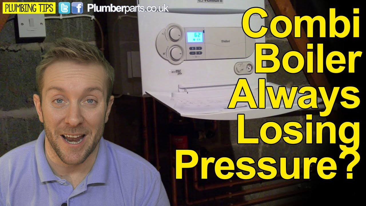 Boiler Pressure Dropping >> BOILER KEEPS LOSING PRESSURE - WHY AND HOW TO FIX - Plumbing tips - YouTube