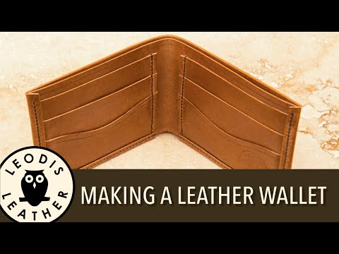 Making a Handmade Leather Wallet thumbnail
