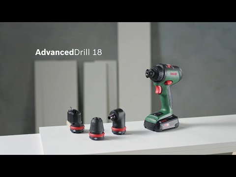 Akku-Bohrschrauber Bosch AdvancedDrill