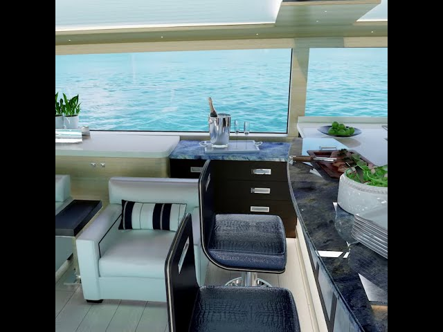Salon by Day Sneak Peek - III Amigos Sportfishing Yacht