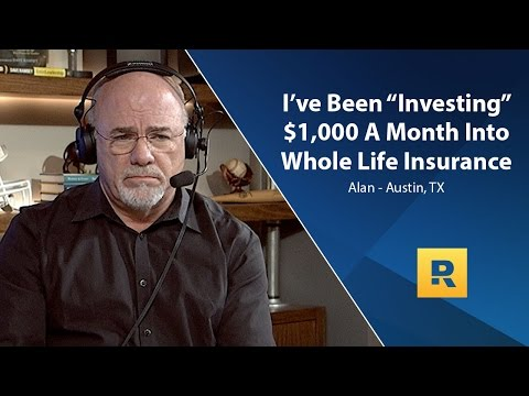 I've Been Investing $1,000 A Month Into Whole Life Insurance