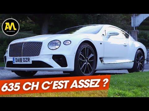 Bentley Continental GT : le summum du grand tourisme