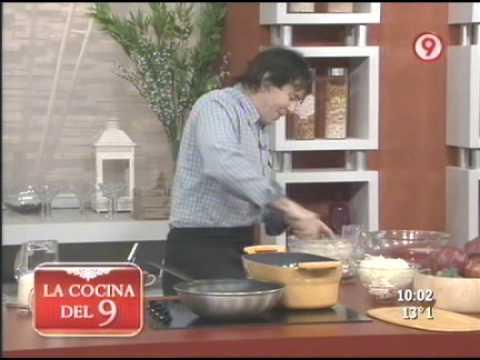 Peceto con salsa de hongos y oquis de pan 1 de 3 for Cocina 9 ariel rodriguez palacios facebook