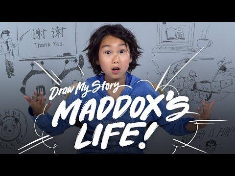 Maddox's Life | Draw My Story | HiHo Kids