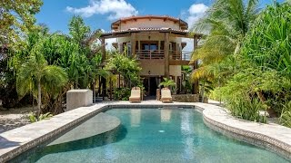 Designer Beachfront Paradise in Ambergris Caye, Belize