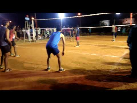 Pratapgarh vs azmi volleyball campus match (Manuu Hyderabad)