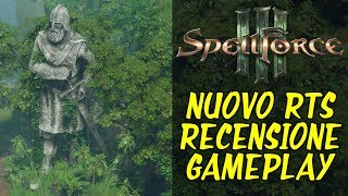 NUOVO RTS MOLTO CARINO - Spell Force 3 - gameplay ita - Recensione - strategy