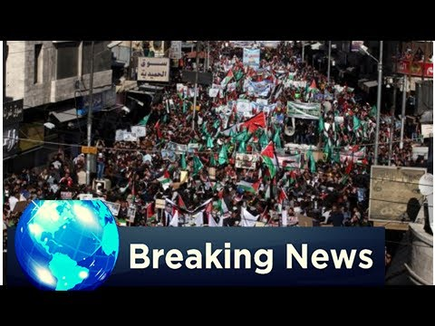 BREAKING: Jordanians March through amman for jerusalem, palestine
