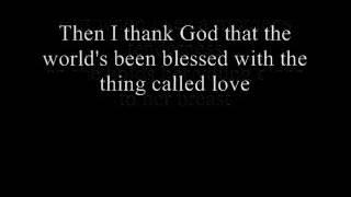 Johnny Cash A thing called love lyrics