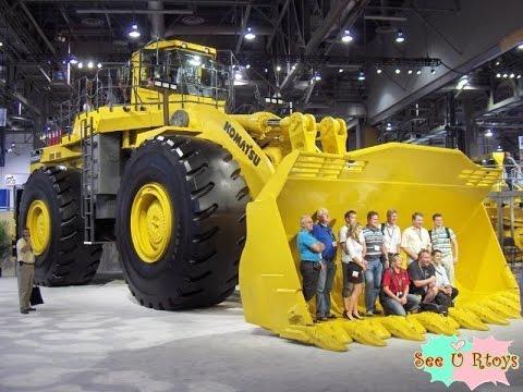 รถตักดินยักษ์ รถตักดินที่ใหญ่ที่สุดในโลก TRUCK
