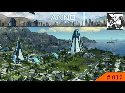 Anno 2205: #017 Building the HQ - A new order shall rise! (and hopefully bring some graphene...)
