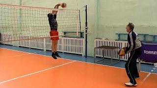 Обучение волейболу взрослых. Для начинающих. Блок в волейболе
