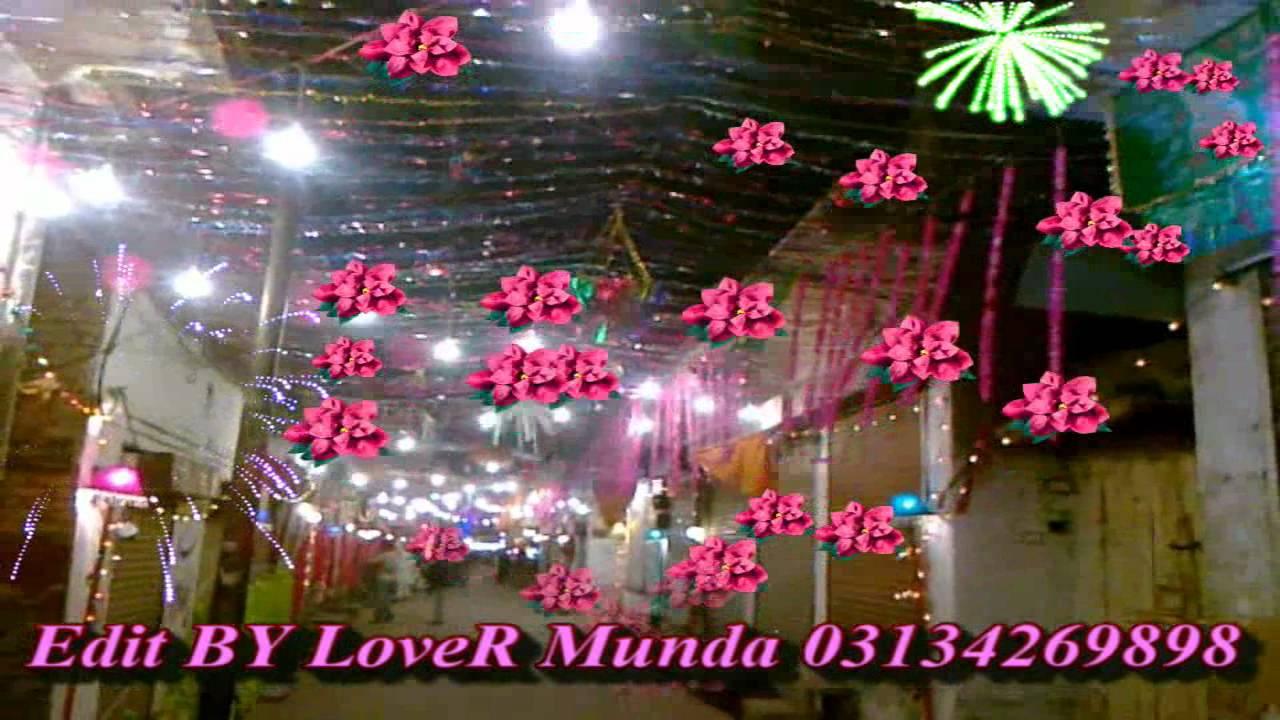 12 rabi ul awal decoration kasur road kot by lover munda for 12 rabi ul awal 2014 decoration