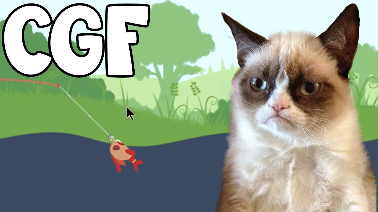 Cat Goes Fishing 12 Red Skitter Youtube