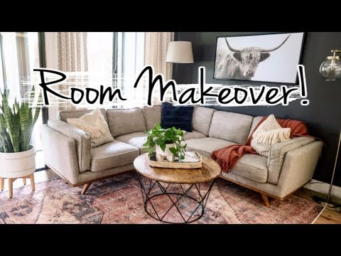 Small Family Room Makeover! | Modern Interior Design Ideas | Mennonite Home 2019