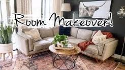 Small Family Room Makeover! | Modern Interior Design Ideas | Mennonite Home 2019