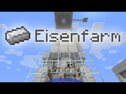 REUPLOAD (altes Video) Minecraft-Tutorial: Eisenfarm (Golem) (PMT036) [DE] [HD]