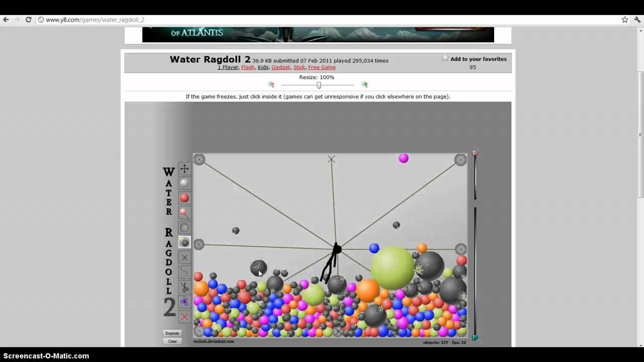 Kết quả hình ảnh cho Water Ragdoll 2 game