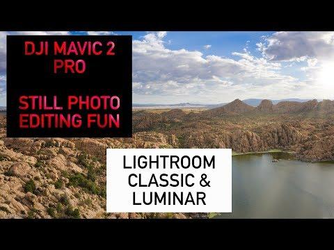 DJI Mavic 2 Pro Drone Photo Editing with Lightroom and