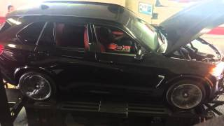 2015 bmw f85 x5m tuned w velos personal tuner gains of over 100 hp and 100tq