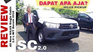 Explorasi HILUX Single Cabin Bensin Paling Murah Toyota Indonesia