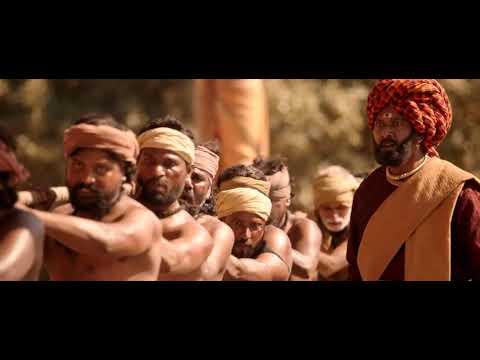 Bahubali Statue scene