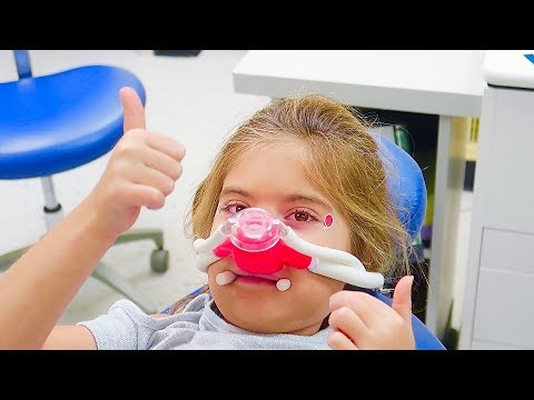 6 YEAR OLD GETS LAUGHING GAS!