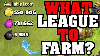 Clash Of Clans   HUNTING FOR THE LOOT!! What League Is It In?