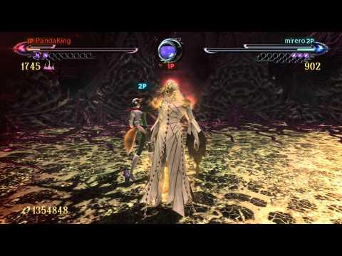 Bayonetta 2 - Balder Gameplay