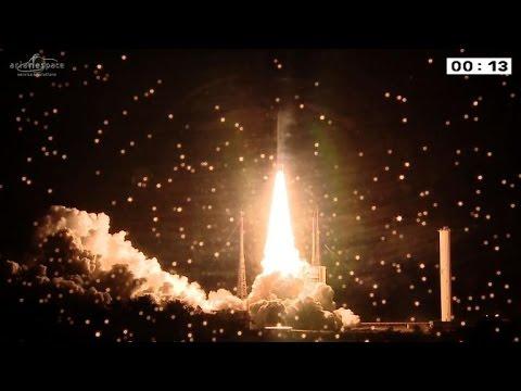 Latin America launches communications satellite