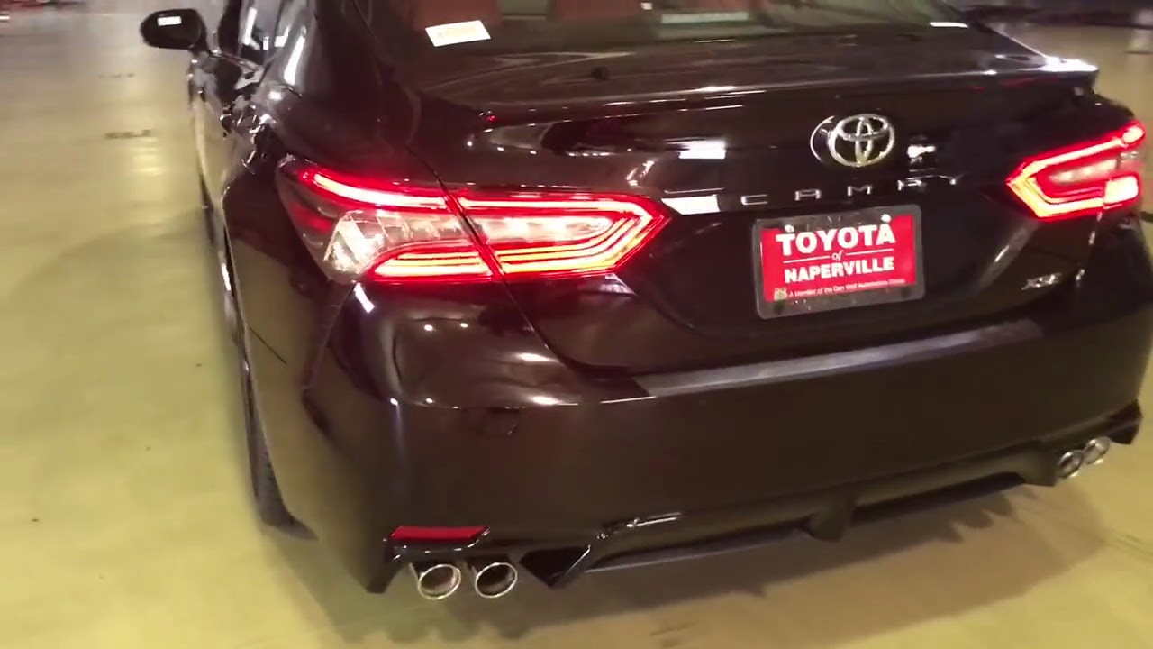 All New Camry 2018 Black Grand Avanza Second Toyota V6 Xse Start Up And Walk Around In Dark Lighting