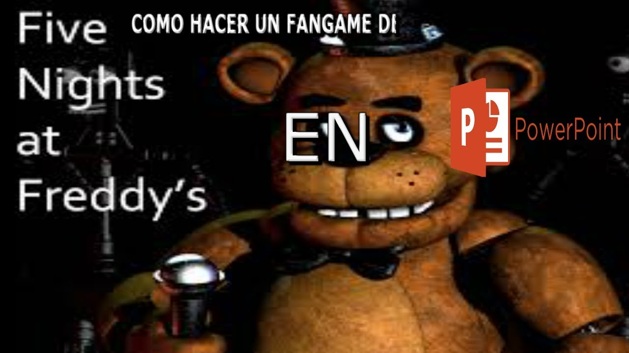 How To Make Your Own Fnaf Fangame On Scratch Ep 1 Title