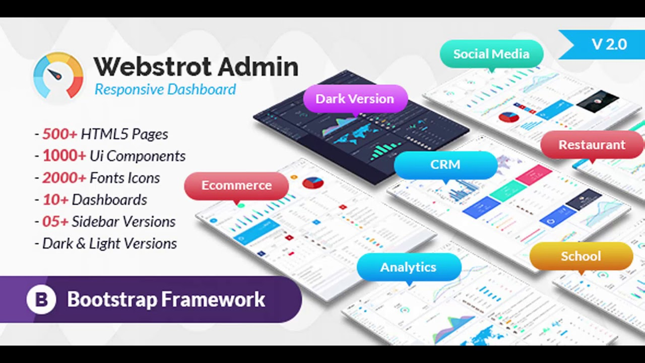 Webstrot Admin Panel Responsive Bootstrap Dashboard Template   Themeforest  Website Templates and