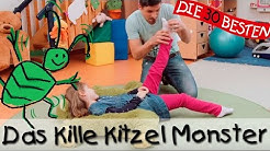 Das Kille Kitzel Monster - Singen, Tanzen und Bewegen || Kinderlieder