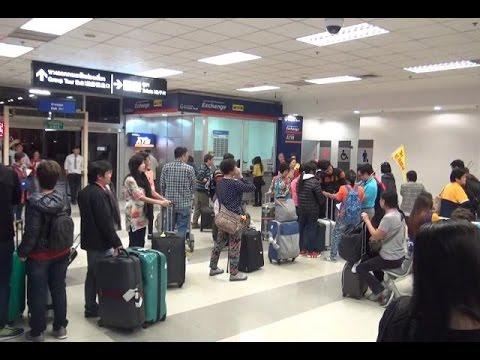 สนามบินเชียงใหม่ล้น นทท.แห่เที่ยวสิ้นปี