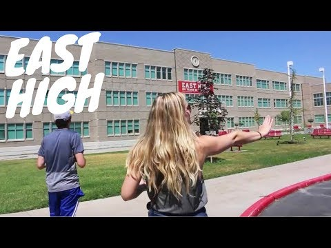 TOUR OF EAST HIGH (High School Musical School)