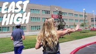 TOUR OF EAST HIGH (High School Musical School)