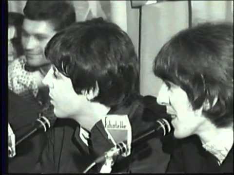Beatles Press Conference_Hamburg, Germany