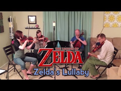 Zelda's Lullaby (Ocarina of Time) for String Quartet