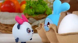 Малышарики - Ушки - серия 27 - обучающие мультфильмы для малышей 0-4