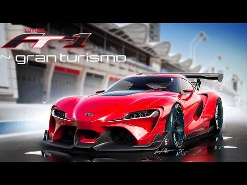 มันกลับมาแล้ว.. Supra !!! 2019 Toyota FT-1