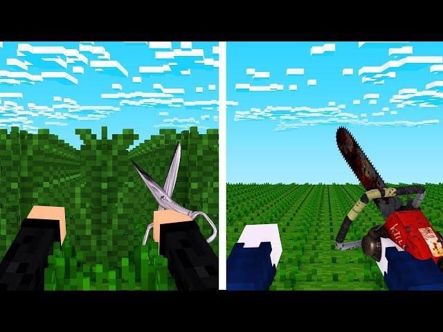 NOOB FARM gegen PRO FARM! - Minecraft