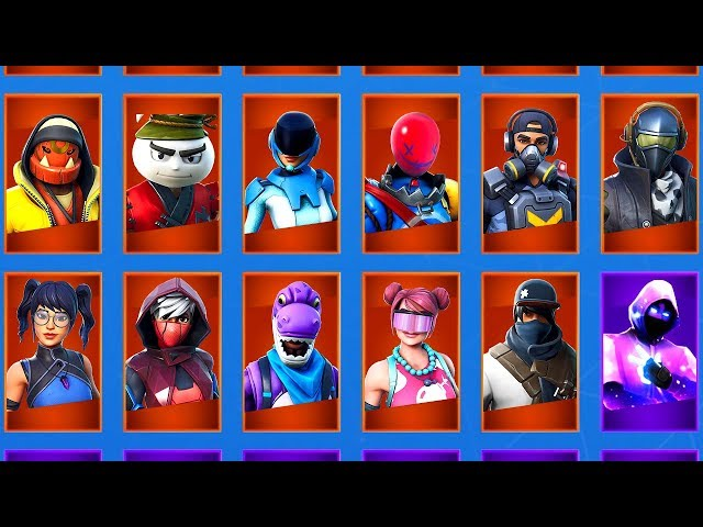 11 LEAKED SKINS That You Have NEVER SEEN BEFORE! (Fortnite Season 10)